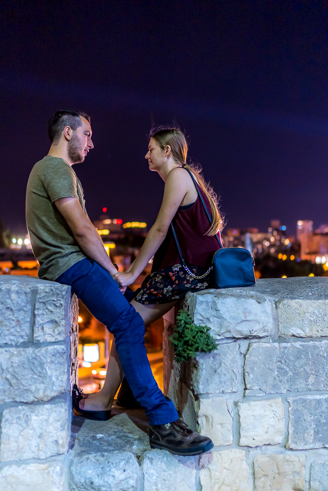 Couple in Jerusalem